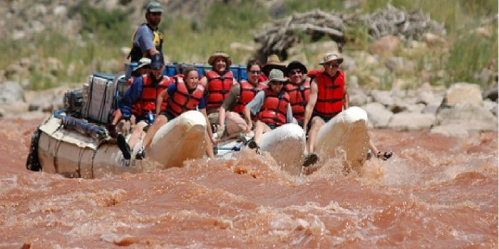 Extension Cataract Canyon raft et camping