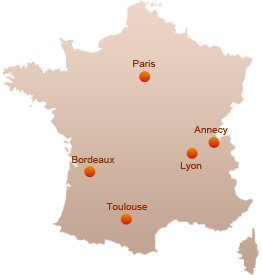 Nos agences en France